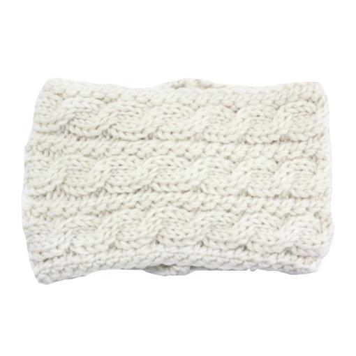 Beige 2 510x510 - Touca de Croche Feminina Trançada Aberta