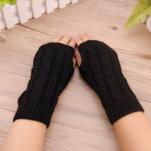 Black 5 510x510 - Luva de Inverno Free Fingers