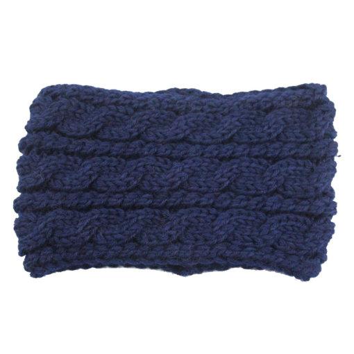 Dark Blue 510x510 - Touca de Croche Feminina Trançada Aberta