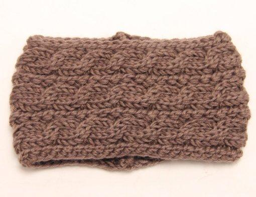 Khaki 510x393 - Touca de Croche Feminina Trançada Aberta