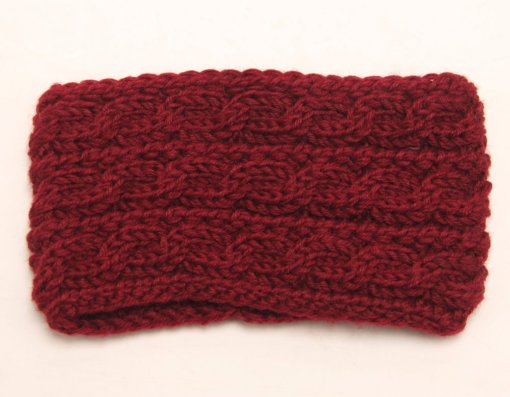 Red 2 510x397 - Touca de Croche Feminina Trançada Aberta