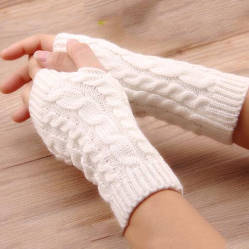 White 2 510x510 - Luva de Inverno Free Fingers